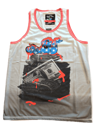 SLOWBUCKS AMERICAN GREED TANK