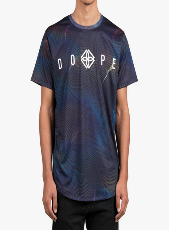 DOPE COUTURE Receding Tee