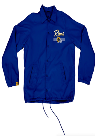 ICER BRANDS LA Rams Coaches Jacket