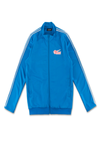 PINK DOLPHIN Stripe 88 Track Top in Blue